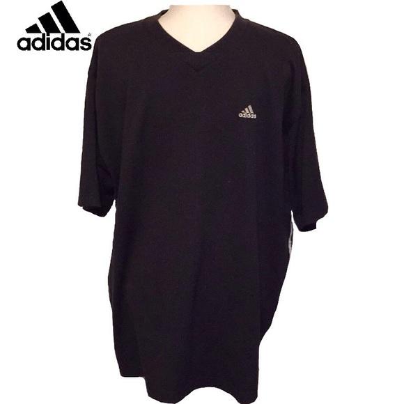 adidas v neck t shirts mens